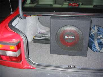 Installing a sub in your Volvo